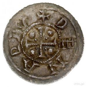 denar, Aw: Książę siedzący na tronie na wprost, DVCIS O...