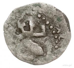 denar, Aw: Hełm z pięcioma piórami w pióropuszu, [N] R[...