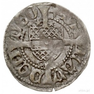 Gryfia, grosz (fenig) XV w., Aw: Gryf kroczący w lewo M...