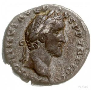 Antoninus Pius 138-161, denar 140, Rzym, Aw: Głowa Anto...