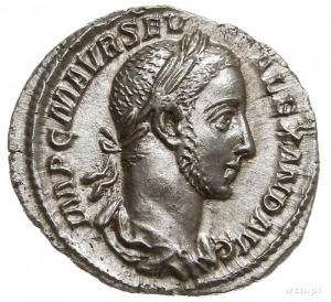 Aleksander Sewer 222-235, denar 227, Rzym, Aw: Popiersi...