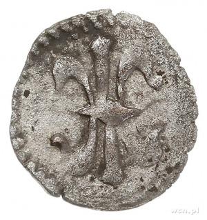 Ks. Głogowsko-Żagańskie, halerz miejski 1430-1476, Kros...