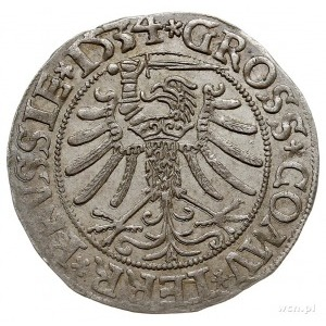 grosz pruski 1534, Toruń, PN.13-Dut.100, ładny