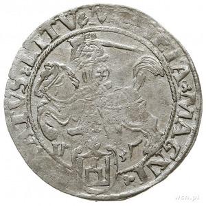 grosz na stopę litewską 1535, Wilno, odmiana z literą N...