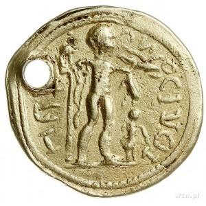 Indyjskie naśladownictwo aureusa rzymskiego z I wieku n...