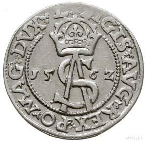 trojak 1562, Wilno, Pogoń bez tarczy, Iger V.62.2.d (R)...