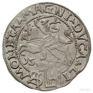 grosz na stopę polską 1566, Tykocin, Ivanauskas 5SA16-7...