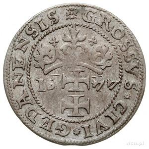 grosz oblężniczy 1577, Gdańsk, wybity w czasie gdy zarz...