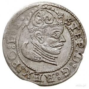 grosz 1583, Ryga, Gerbaszewski 2, drobna wada blachy