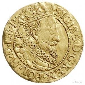 dukat 1612, Gdańsk, Aw: Popiersie króla w prawo i napis...