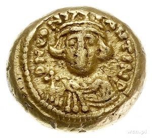 Konstans II 641-668, solidus 641-647, Kartagina, Aw: Po...