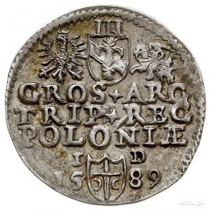trojak 1589, Olkusz, Iger O.89.1.a (R1)