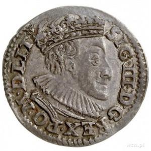 trojak 1590, Olkusz, na rewersie herb Przegonia (podska...