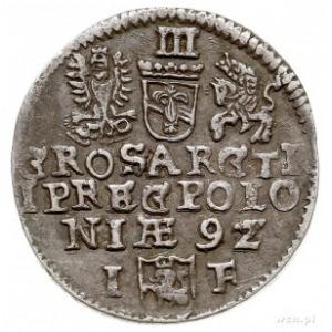 trojak 1592, Olkusz, Iger O.92.6.g (R1)