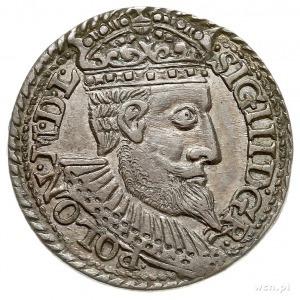 trojak 1598, Olkusz, Iger O.98.4.e, patyna, piękny