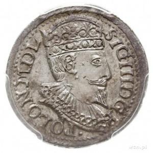 trojak 1598, Olkusz, Iger 98.1.d, moneta w pudełku PCGS...
