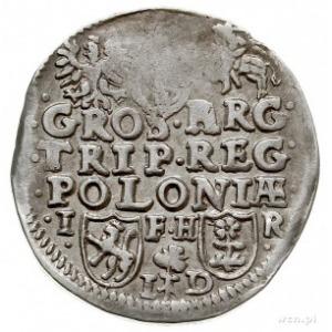 trojak bez daty, Poznań, P.bd.4.a (R6), popiersie podob...