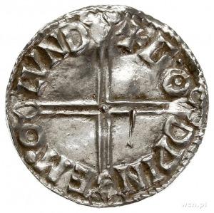 Aethelred II 978-1016, denar typu long cross 997-1003, ...