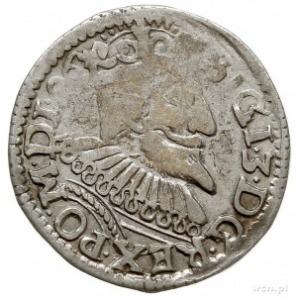 trojak 1596, Poznań, skrócona data na awersie i na rewe...
