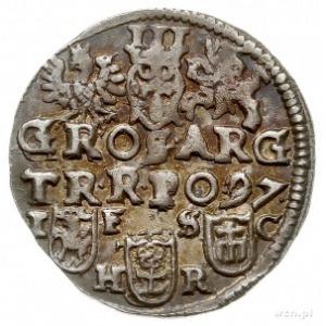 trojak 1597, Bydgoszcz, Iger B.97.3.a, patyna, bardzo ł...
