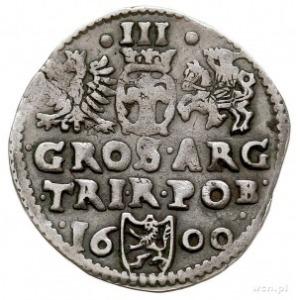 trojak 1600, Bydgoszcz, na awersie w napisie odwrócona ...