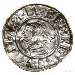 Aethelred II 978-1016, denar typu small cross 1009-1017...