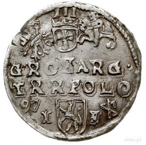 trojak 1597, Lublin, awers Iger L.97.2.d/-, nie notowan...