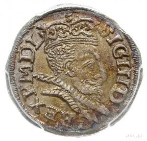 trojak 1598, Lublin, pełna data u dołu rewersu, Iger L....
