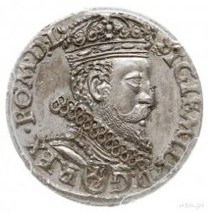 trojak 1601, Kraków, popiersie króla w prawo, Iger K.01...