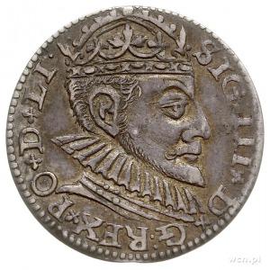 trojak 1590, Ryga, duża głowa króla, Iger R.90.2.c (R2)...