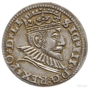 trojak 1592, Ryga, Iger R.92.1.b, Gerbaszewski 8, ładny