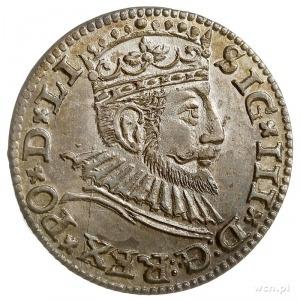 trojak 1593, Ryga, rzadsza odmiana napisowa LI, Iger R....