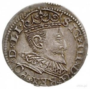 trojak 1596, Ryga, Iger R.96.1.d, Gerbaszewski 14, paty...