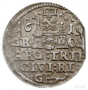 trojak 1619, Ryga, odmiana z małą głową króla, Iger R.1...