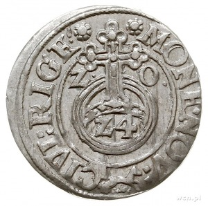 półtorak 1620, Ryga, znak lis pod jabłkiem królewskim, ...