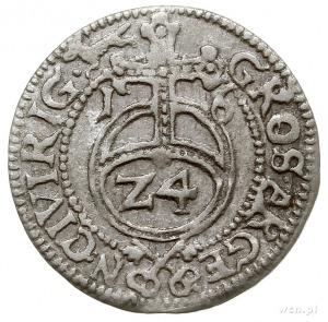 grosz 1616, Ryga, Gerbaszewski 13, Górecki R.16.1.b/a, ...