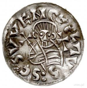 Udalryk 1012-1033, denar, Aw: Popiersie władcy na wpros...