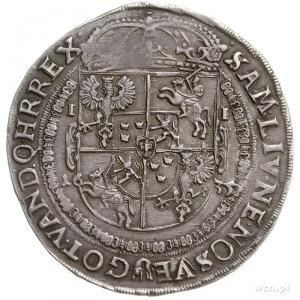 talar 1635, Bydgoszcz, Aw: Półpostać króla w prawo i na...