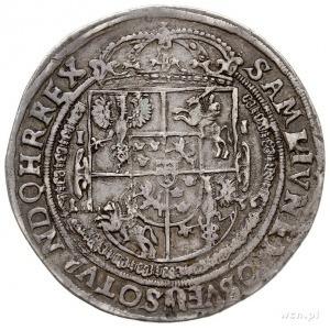 talar 1636, Bydgoszcz, Aw: Półpostać króla w prawo i na...