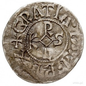 Karol II Łysy 843-877 - jako król Francji, denar, Le Ma...
