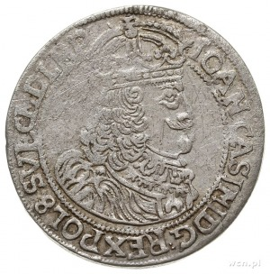 ort 1659, Poznań, Aw: Popiersie w prawo i napis wokoło ...