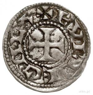 Akwitania- księstwo, Wilhelm X Święty 1126-1137, denar,...