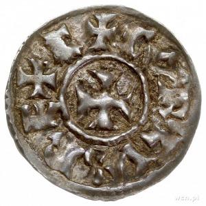 Anonimowy emitent w XI w., naśladownictwo denara karoli...