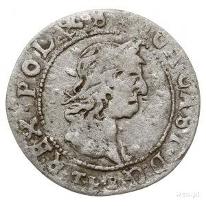 trojak 1665, Wilno, odmiana z cyfrą III za Pogonią, gwi...