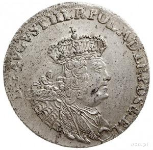 30 groszy (złotówka) 1762, Gdańsk, Kahnt 719.b -na rewe...