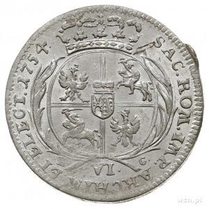 szóstak 1754, Lipsk, Kahnt 693. -podobny do wariantu a,...