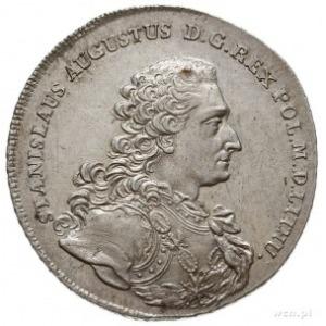 talar 1766, Warszawa, Aw: Popiersie króla w zbroi, bez ...
