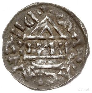Henryk IV 995-1002, denar 995-1002, Ratyzbona, mincerz ...