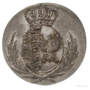 5 groszy 1811 IB, Warszawa, Plage 96, moneta w pudełku ...