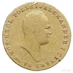 25 złotych 1817, Warszawa, złoto 4.87 g, Plage 11, Bitk...